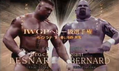 igpw brock lesnar vs giant bernard
