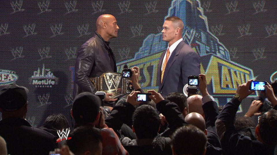 john-cena-the-rock-wm29-live-conf