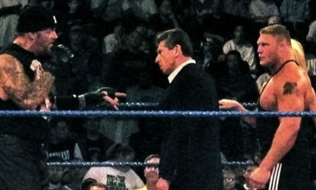 undertaker lesnar