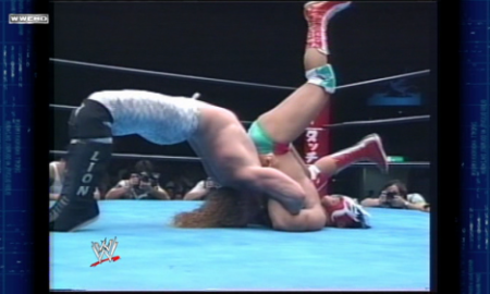 Chris Jericho vs. Ultimo Dragon