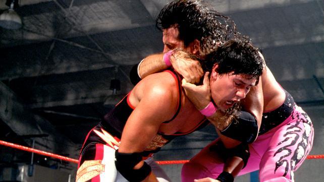 123 Kid vs Bret Hart WWF Title