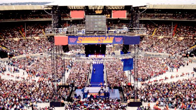 Wembley Stadium, SummerSlam 1992