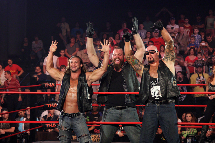 aces and 8s tna wrestling video