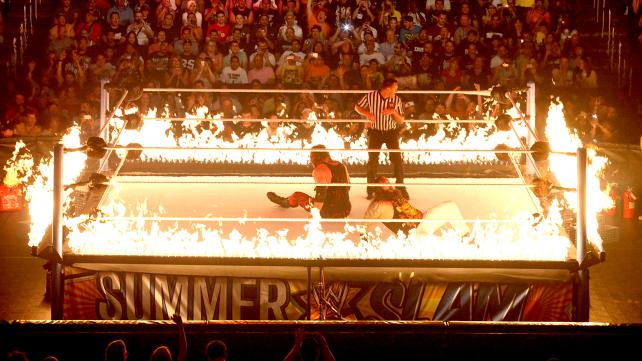 kane-vs-bray-wyatt-ring-of-fire-summerslam-2013