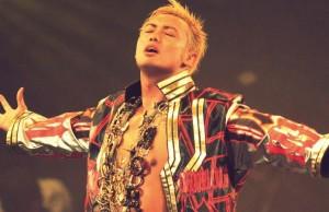 Kazuchika Okada, actuel champion IWGP.