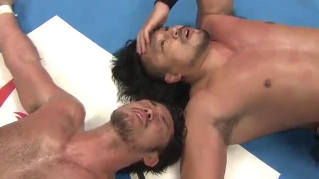 Goto et Shibata fin du match