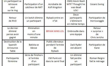 bingo royal rumble