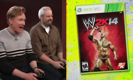 conan o brien wwe 2k14