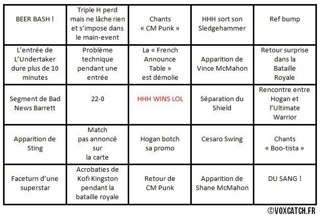 bingo wrestlemania 30
