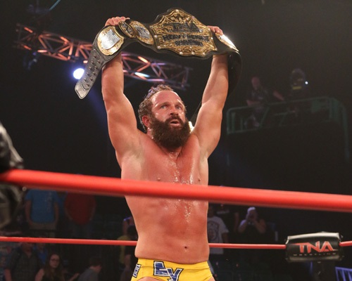 eric young tna champ home