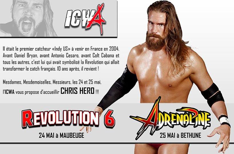 icwa revolution 6 adrenaline