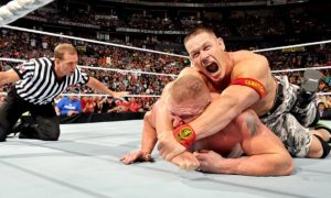 cena lesnar night of champions