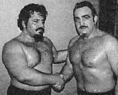 The Sicilians : Lou Albano & Tony Altomore