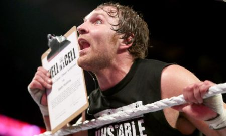 dean ambrose hell in a cell contract