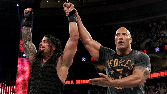 roman reigns the rock