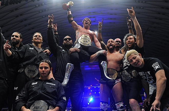 bullet club new beginning