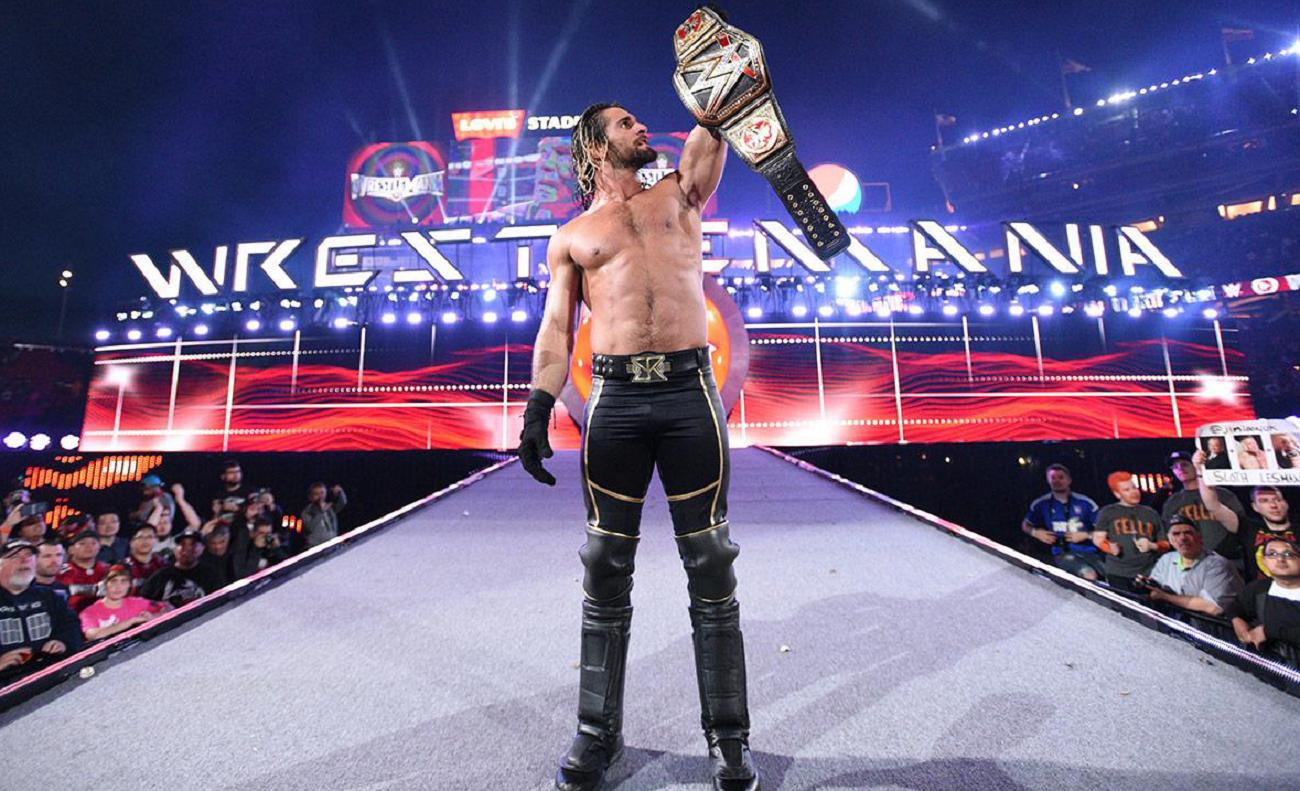 Rollins wrestlemania 31