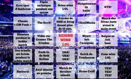 wrestlemania bingo full