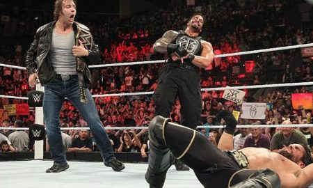 ambrose reigns rollins