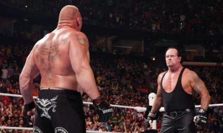 undertaker lesnar battleground