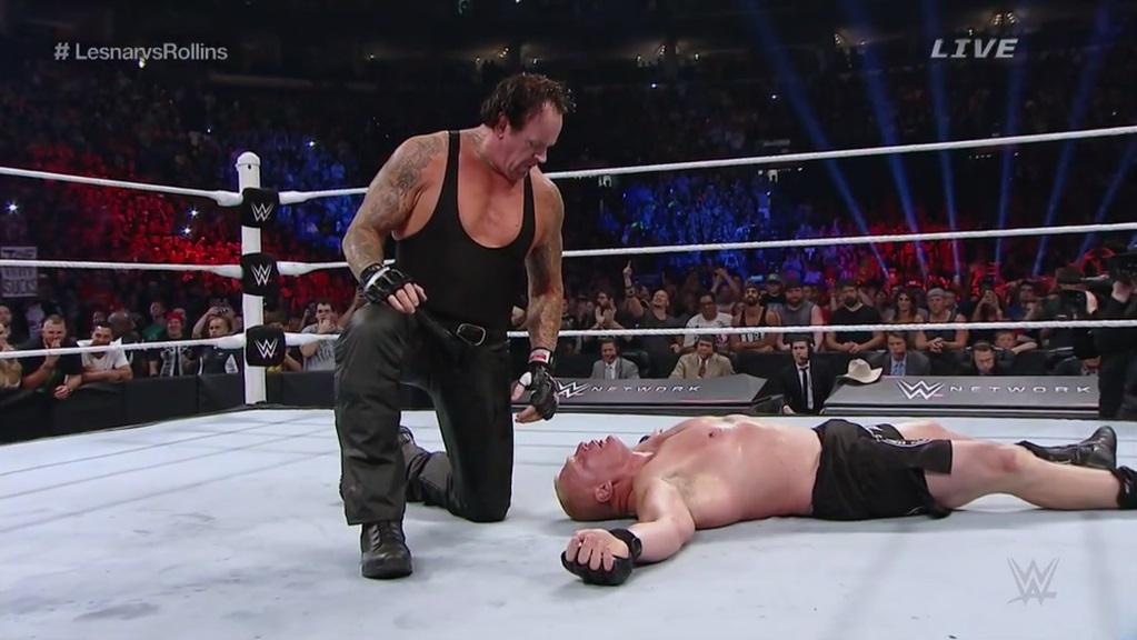 undertaker retour battleground