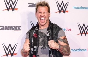 FRANKFURT AM MAIN, GERMANY - NOVEMBER 15:  Chris Jericho poses prior to WWE Live 2014 at Festhalle on November 15, 2014 in Frankfurt am Main, Germany.  (Photo by Simon Hofmann/Bongarts/Getty Images)