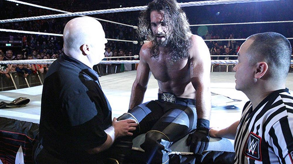 rollins blessure