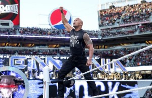 The Rock à WrestleMania 31 — © WWE