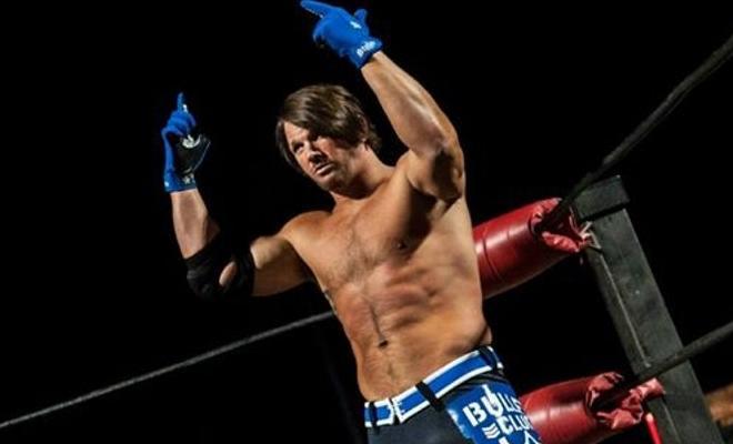 AJ Styles Blue Bullet Club Gear