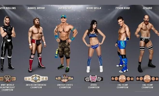 champions-wrestlemania-31