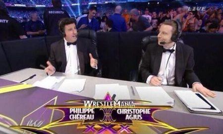 christophe agius et philippe chereau wrestlemania