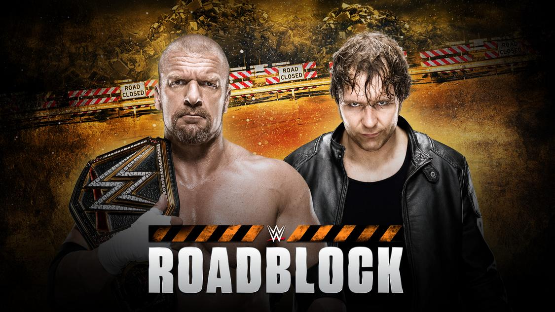 wwe roadblock