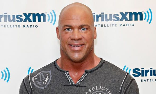 NEW YORK, NY - MAY 15:  Wrestler/actor Kurt Angle visits the SiriusXM Studios on May 15, 2013 in New York City.  (Photo by Cindy Ord/Getty Images)