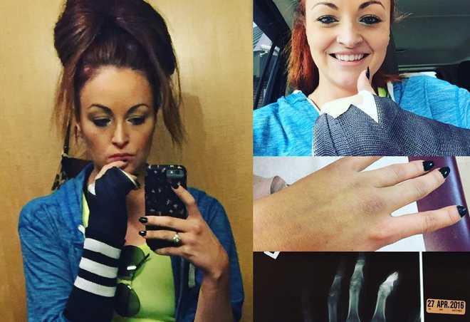 maria kanellis fracture main