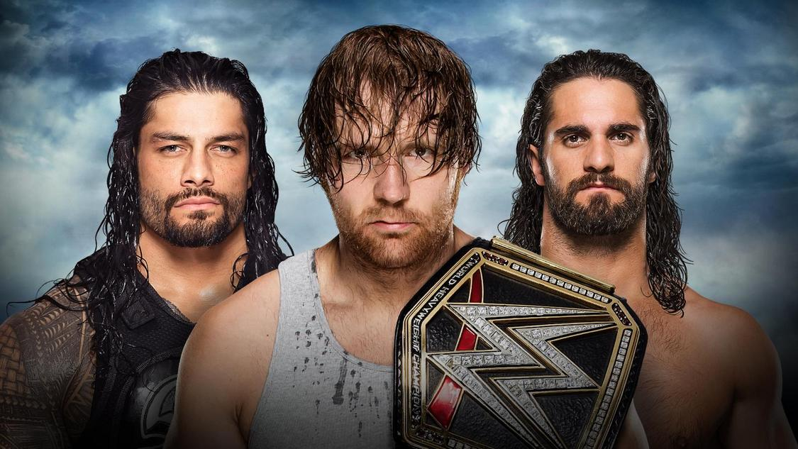 reigns ambrose rollins battleground