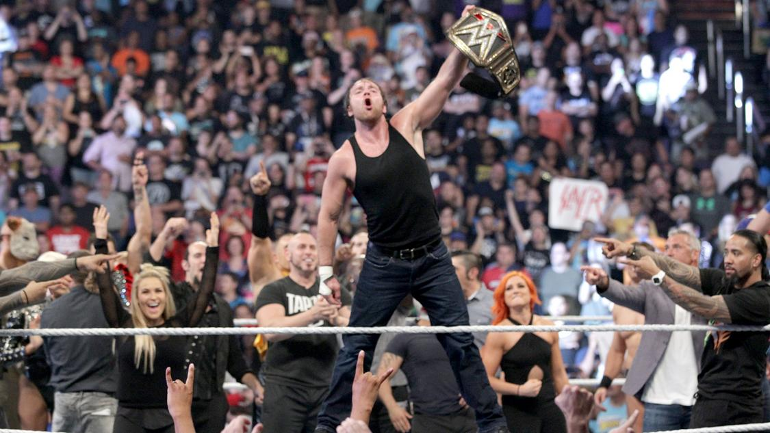 dean ambrose battleground vainqueur