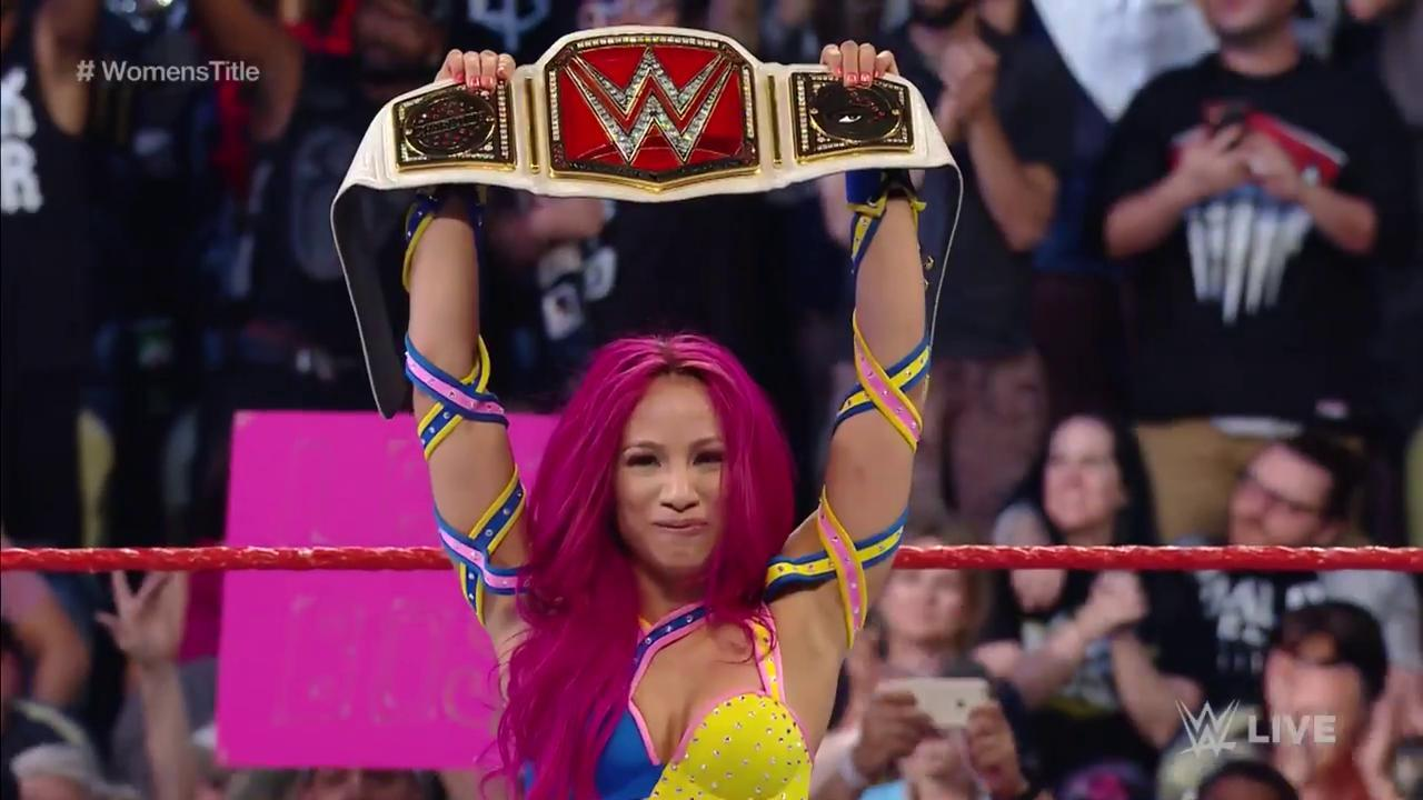 sasha banks wwe champion