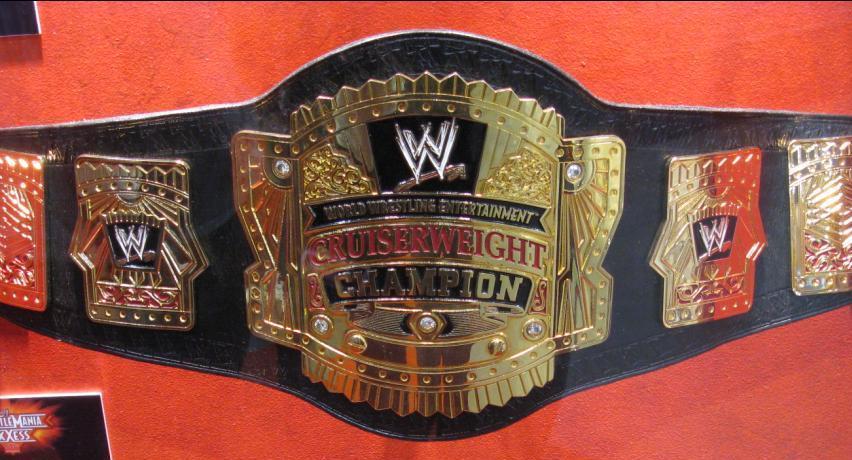 wwe cruiserweight belt