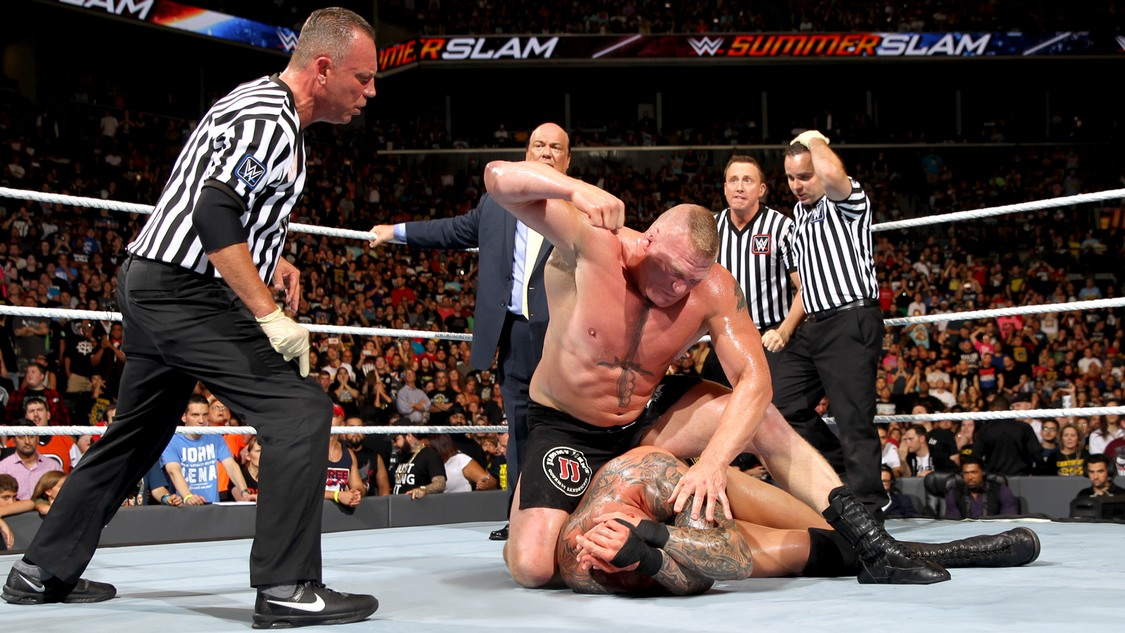 brock lesnar randy orton summerslam 2016
