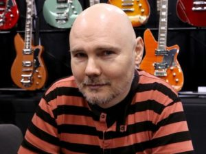 ANAHEIM, CA - JANUARY 21:  Musician Billy Corgan signs autographs at the 2016 NAMM Show Opening Day at the Anaheim Convention Center on January 21, 2016 in Anaheim, California.  (Photo by Jesse Grant/Getty Images for NAMM)