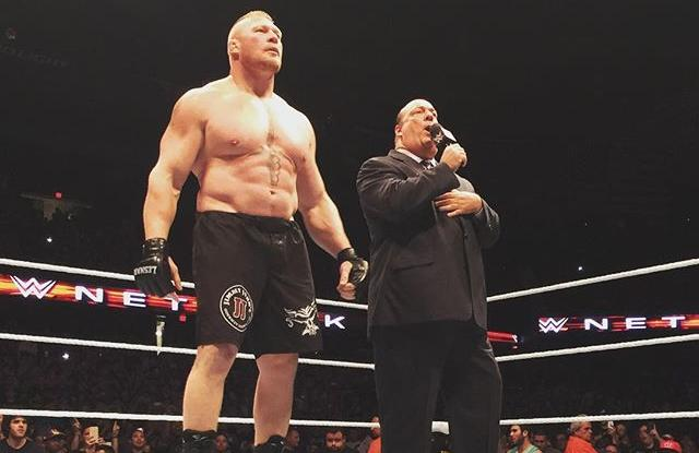 lesnar heyman chicago