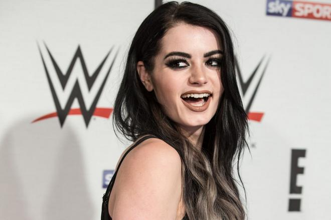 paige wwe preshow party at the o2 arena in london