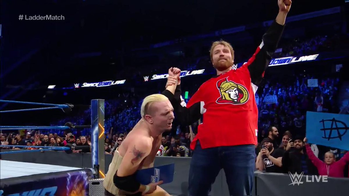 ellsworth ambrose smackdown