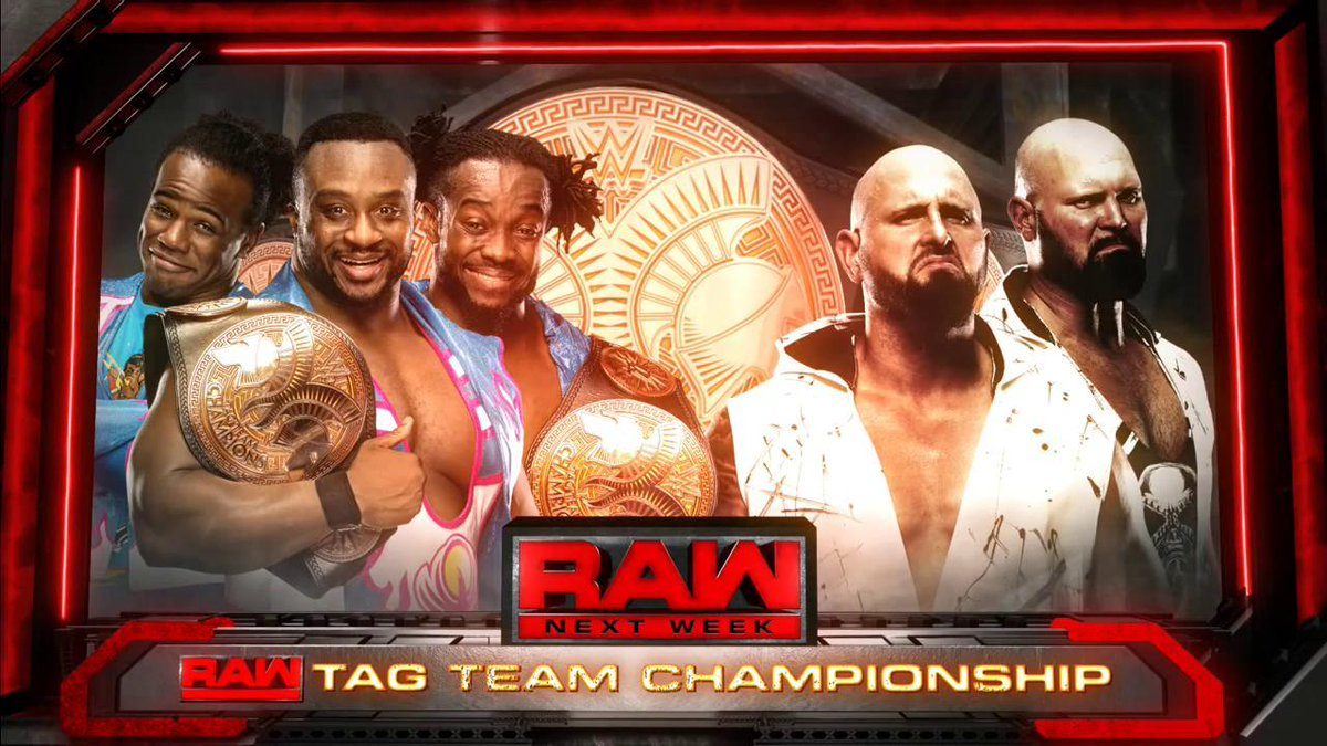 new day the club raw