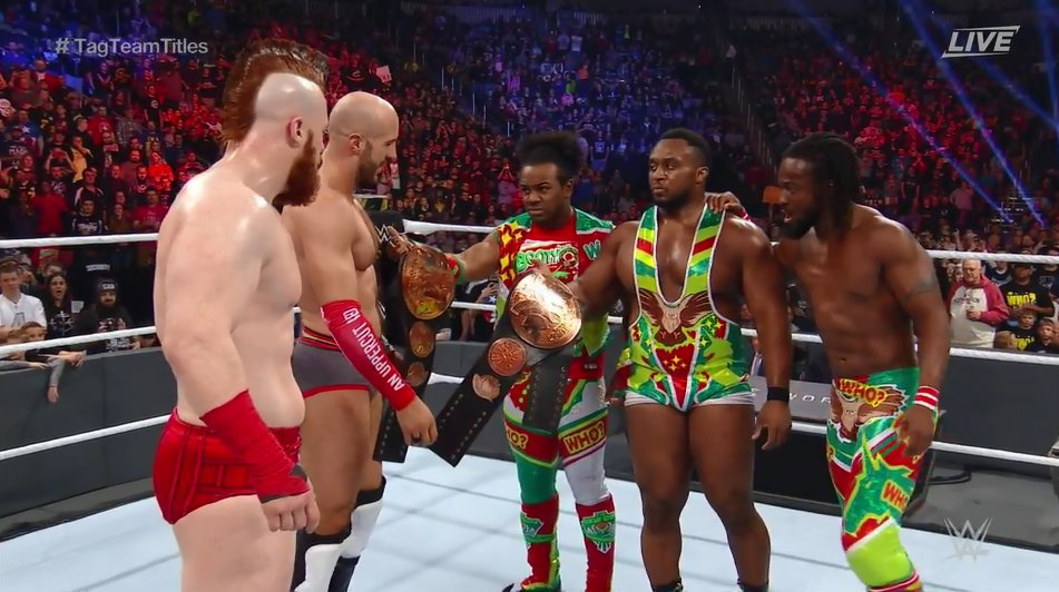 cesaro sheamus roadblock