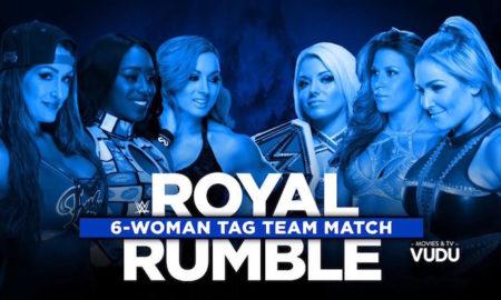 match féminin par équipe smackdown