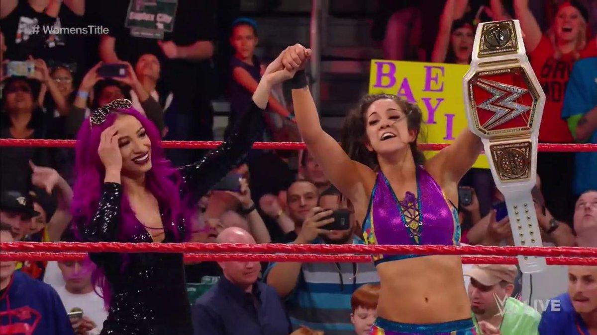 bayley championne raw