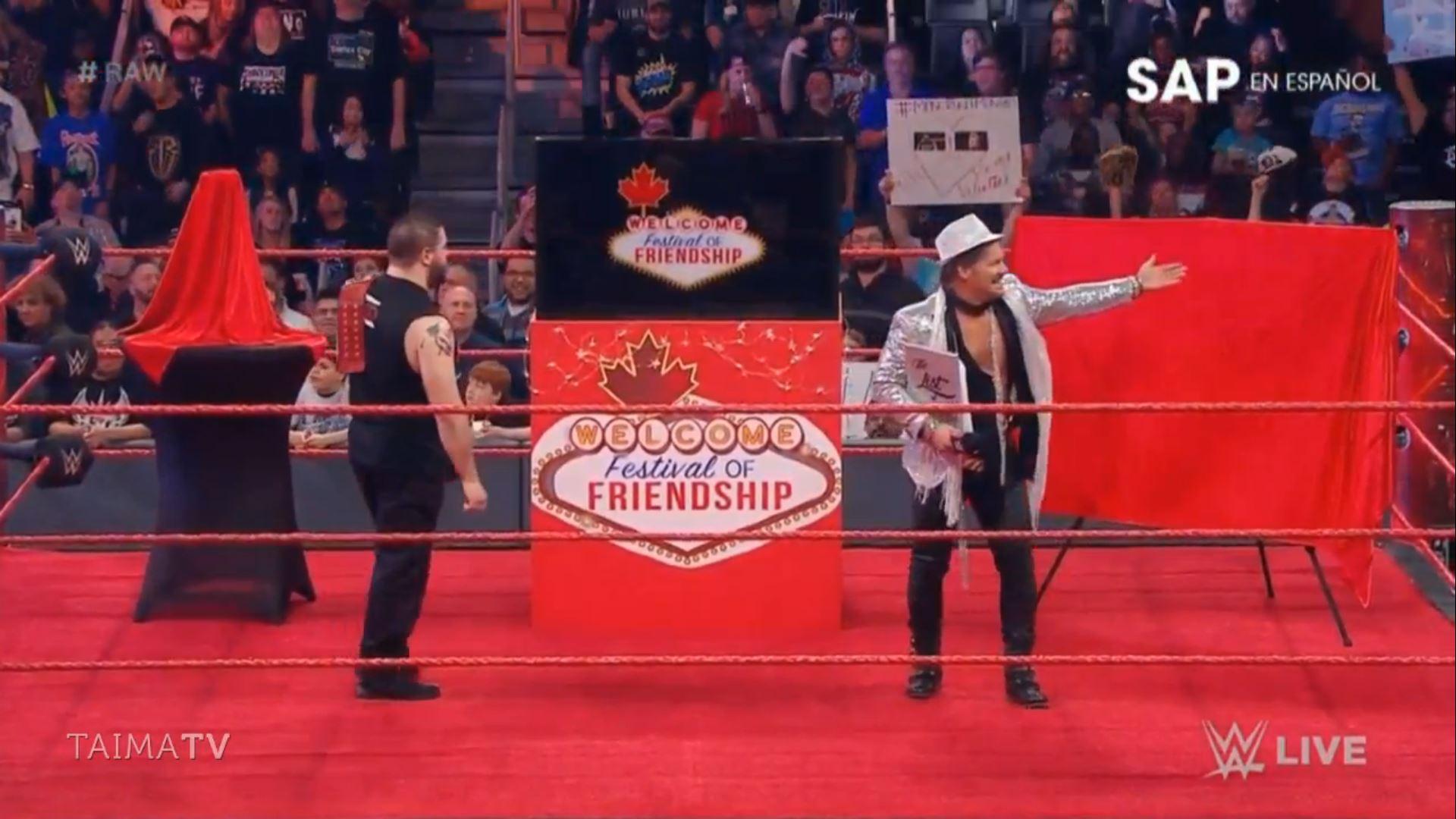 festival of friendship raw