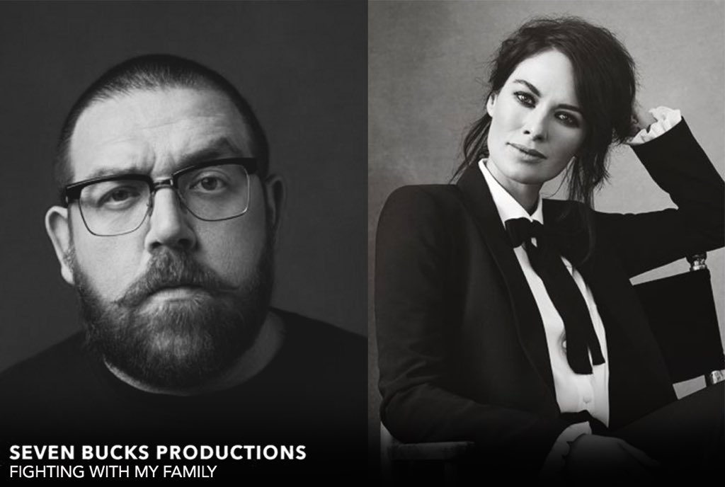 nick frost lena headay fighing with my family