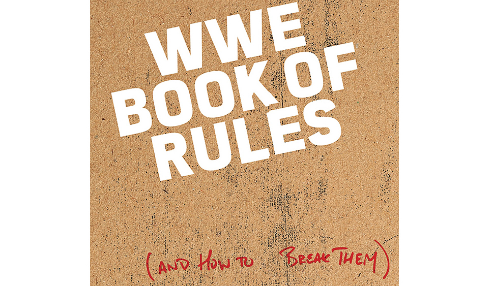 wwe book of rules